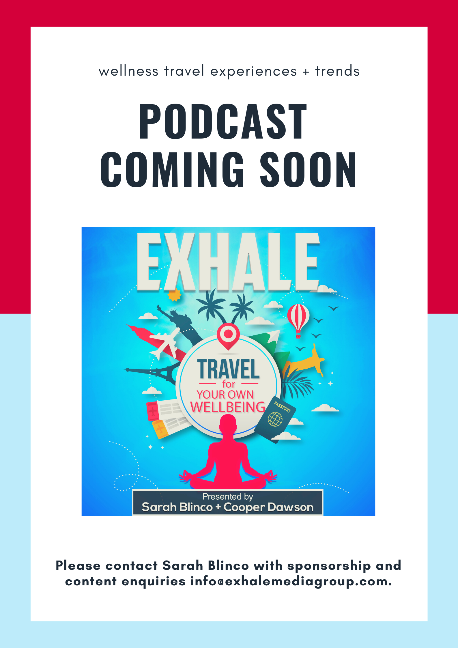 Exhale podcast coming soon